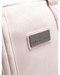 Adidas By Stella McCartney Pink Embossed Neoprene Tote