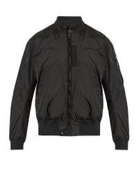 Moncler   Black Timothe Nylon Bomber Jacket for Men   Lyst