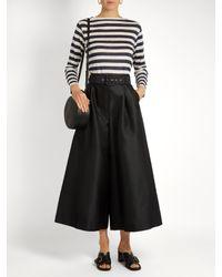 Orcival | Blue Breton-striped Linen Top | Lyst