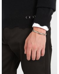 Alexander McQueen - Metallic Sword And Snake Cuff for Men - Lyst