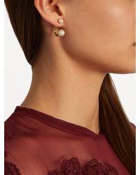 Chloé - Multicolor Darcey Faux-pearl Earrings - Lyst