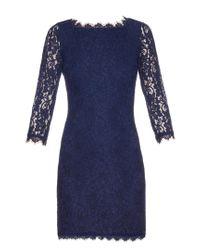 Diane von Furstenberg | Blue Zarita Dress | Lyst
