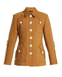 Ellery | Multicolor Starlight Point-collar Wool-blend Jacket | Lyst