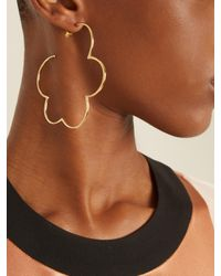 Simone Rocha | Metallic Gold Cloud Earrings | Lyst