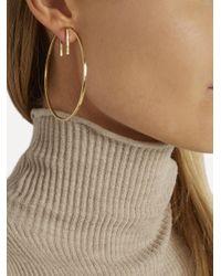 Fay Andrada - Metallic Rako Brass Earrings - Lyst