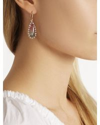 Irene Neuwirth - Multicolor Diamond, Tourmaline & Rose-gold Earrings - Lyst
