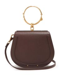 Chloé - Brown Nile Medium Leather Cross-body Bag - Lyst