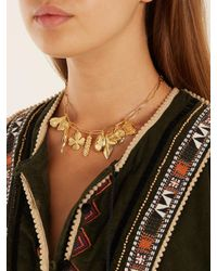 Aurelie Bidermann - Metallic Aurélie Gold-plated Necklace - Lyst