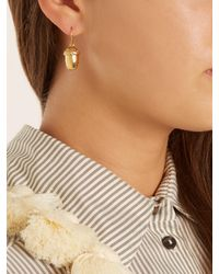 Aurelie Bidermann - Metallic Barbizon Gold-plated Earrings - Lyst