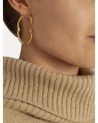 Alighieri - Metallic The Surreal Lion Gold-plated Earrings - Lyst