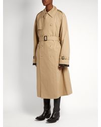 Vetements - Natural X Mackintosh Zip-back Trench Coat - Lyst