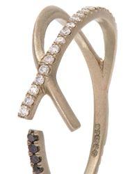 Monique Péan | Metallic Diamond & White-gold Ring | Lyst