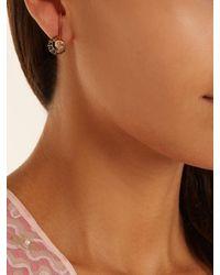 Ara Vartanian - Black X Kate Moss Diamond & Gold Earrings - Lyst