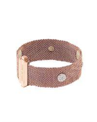 Carolina Bucci - Pink Diamond, Silk & Rose-Gold Bracelet - Lyst