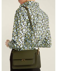 Marni - Multicolor Trunk Medium Leather Shoulder Bag - Lyst