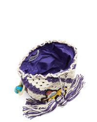 Peter Pilotto - Multicolor Pineapple-appliqué Crochet-cotton Shoulder Bag - Lyst