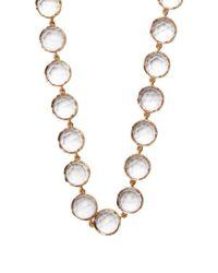 Irene Neuwirth - Metallic Rose De France Amethyst & Rose-gold Necklace - Lyst