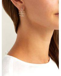 Fernando Jorge - Metallic Mini Disco 18kt Gold & Diamond Earrings - Lyst