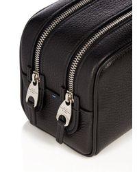 Smythson - Black Burlington Small Leather Washbag for Men - Lyst