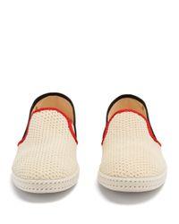 Rivieras Multicolor Tour Du Monde Woven Loafers for men