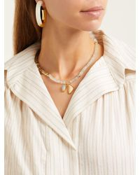 Lizzie Fortunato - Multicolor Marine Beaded Necklace - Lyst