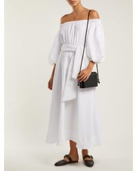 Gabriela Hearst - White Riley Aloe Vera Infused Linen Dress - Lyst