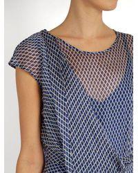 Sportmax - Blue Rito Dress - Lyst