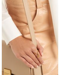 Chloé - Metallic Collected Hearts Heart-embellished Ring - Lyst