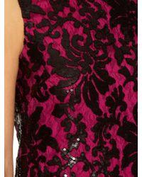 Diane von Furstenberg - Black 'kaleb' Dress - Lyst