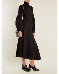 Joseph - Black Block-heel Leather Loafers - Lyst