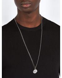 M. Cohen - Multicolor Collier en argent à pendentifs pièces for Men - Lyst