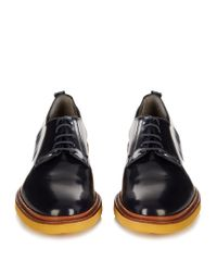 Robert Clergerie - Multicolor Jonk Polished-leather Lace-up Shoes - Lyst