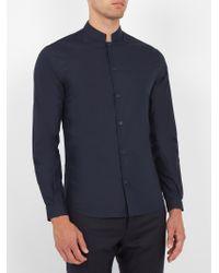 Éditions MR - Blue Office Cotton-poplin Shirt for Men - Lyst