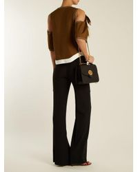 Chloé - Black Mily Medium Leather Shoulder Bag - Lyst