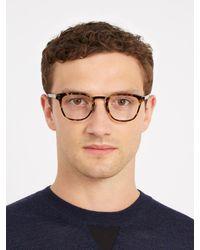 Dior Homme - Brown Blacktie 2.0o D-frame Glasses for Men - Lyst