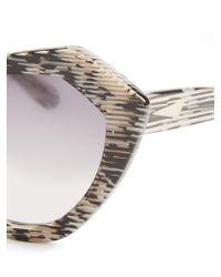 Prism - Multicolor Bilbao 3-d Print Sunglasses - Lyst
