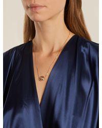 Marie Mas - Diamond, Amethyst, Topaz & Pink-gold Necklace - Lyst
