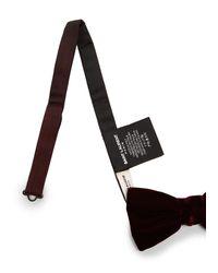 Saint Laurent - Multicolor Velvet Bow Tie for Men - Lyst