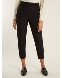 Sportmax - Black Mito Trousers - Lyst