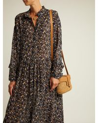 MiH Jeans - Multicolor Edith Botanical Silk Dress - Lyst