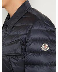 Moncler - Blue Dereck Quilted Down Jacket for Men - Lyst