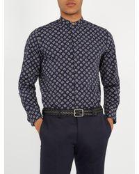 Paul Smith - Multicolor Plaited Reversible Leather Belt for Men - Lyst