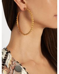 Sylvia Toledano | Metallic Large Gold-plated Earrings | Lyst