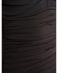 Heidi Klein - Black Body Control Ruched Swimsuit - Lyst