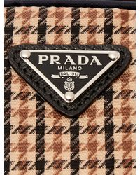 Prada - Brown Tweed-detailed Nylon Camera Bag for Men - Lyst