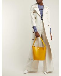 Sophie Hulme - Yellow Swing Large Leather Bag - Lyst