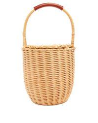 A.P.C. - Multicolor Jeanne Basket Bag - Lyst