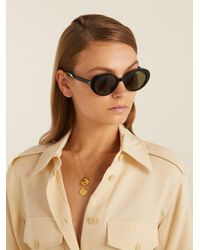 The Row - Multicolor - X Oliver Peoples Parquet Sunglasses - Womens - Black - Lyst