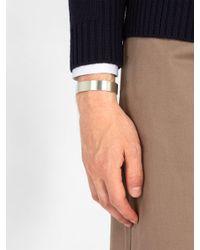Le Gramme - Metallic Le 41 Slick Sterling-silver Bracelet for Men - Lyst