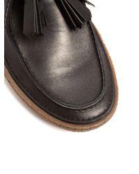 Prada   Black Raised-sole Leather Desert Boots for Men   Lyst